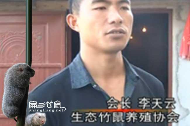 农村竹鼠养殖创业李天云