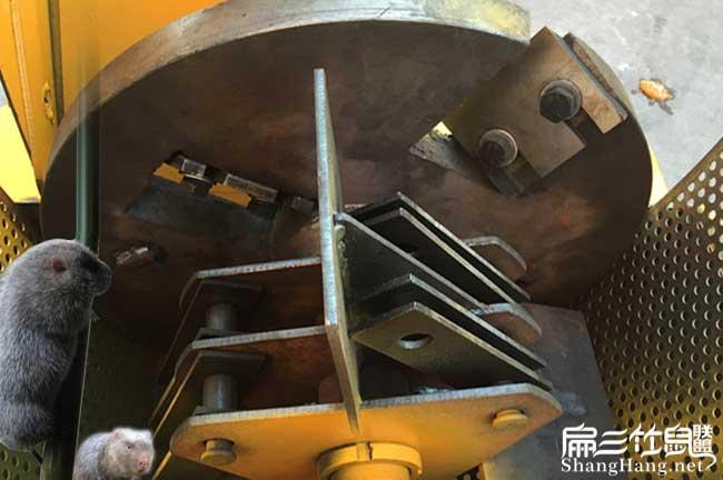 竹粉机内部构造