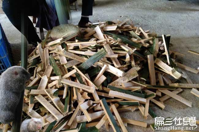 竹鼠食物竹片
