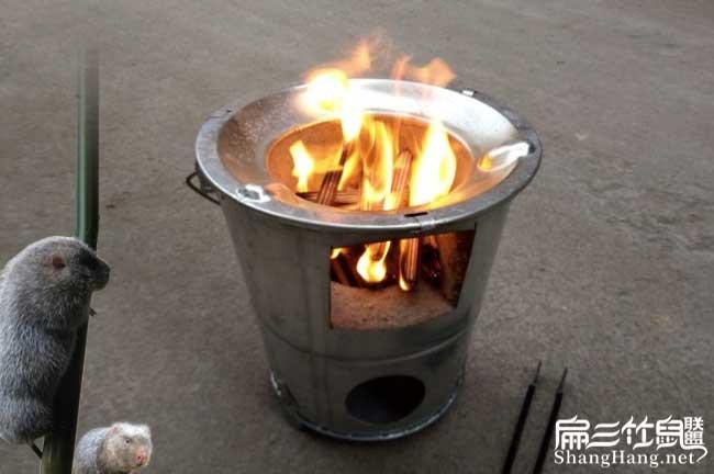 用火取暖设施