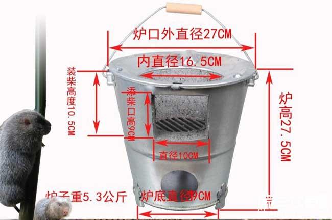 自制竹鼠养殖取暖