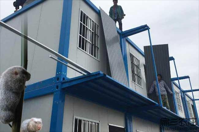 竹鼠养殖厂房