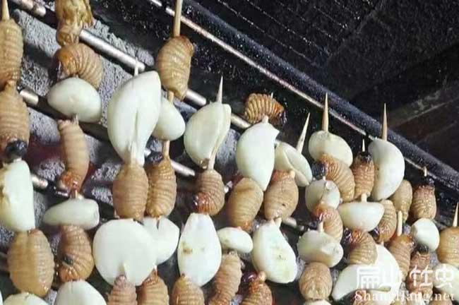 湘西烧烤竹虫